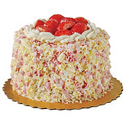 H-E-B Strawberry Cheesecake Cake