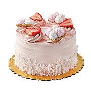H-E-B Strawberry Cookie Cake