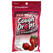 H-E-B Strawberry Cough Drops