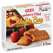 H-E-B Strawberry Filled Muffin Bars