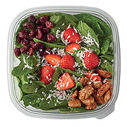 H-E-B Strawberry Honey and Roasted Pecan Salad