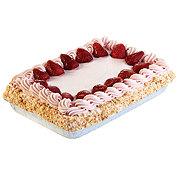 H-E-B Strawberry Tres Leches - 1/4 Sheet