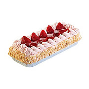 H-E-B Strawberry Tres Leches Cake - 1/8 Sheet