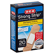 H-E-B Strong-Strips Waterproof All One Size Bandages
