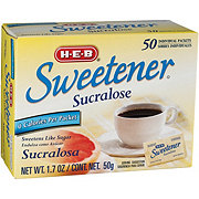 H-E-B Sucralose Sweetener Packets