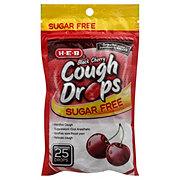 H-E-B Sugar Free Black Cherry Cough Drops