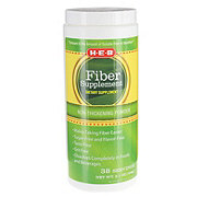 H-E-B Sugar Free Flavor Free Fiber Supplement