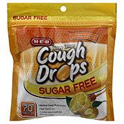 H-E-B Sugar Free Honey Lemon Cough Drops