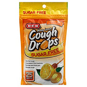 H-E-B Sugar Free Honey Lemon Cough Drops