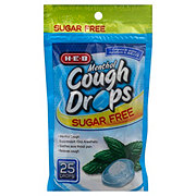 H-E-B Sugar Free Menthol Cough Drops