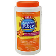 H-E-B Sugar Free Natural Fiber Dietary Supplement