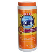 H-E-B Sugar Free Orange Flavor Natural Fiber