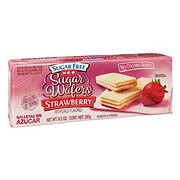 H-E-B Sugar Free Strawberry Sugar Wafers
