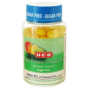 H-E-B Sugar Free Vitamin D Jelly Beans