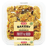 H-E-B Super Seed and Fruit Granola