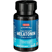 H-E-B Super Strength Melatonin 5 mg Liquid Softgels