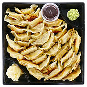H-E-B Sushiya Pot Stickers Party Tray