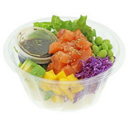 H-E-B Sushiya Salmon Poke Bowl with Original Sauce and White Rice