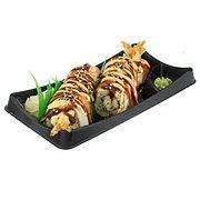 H-E-B Sushiya Temptation Roll with Imitation Crab and Brown Rice