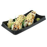 H-E-B Sushiya Tempura Roll with Imitation Crab