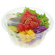 H-E-B Sushiya Tuna Poke Bowl with Original Sauce and White Rice
