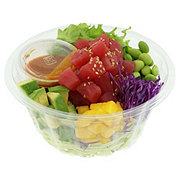 H-E-B Sushiya Tuna Poke Bowl with Spicy Sauce and Vegetable Noodles