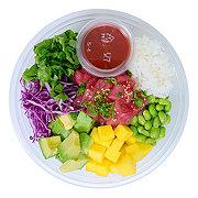 H-E-B Sushiya Tuna Poke Bowl with Spicy Sauce and White Rice
