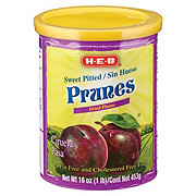 H-E-B Sweet Pitted Prunes