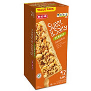 H-E-B Sweet & Salty Almond & Peanut Granola Bars Value Pack