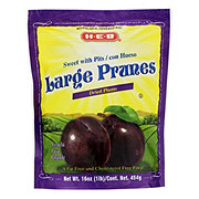 H-E-B Sweet With Pits Large Prunes