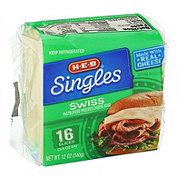H-E-B Swiss Cheese Singles