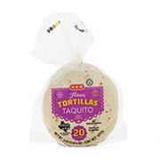 H-E-B Taquito Flour Tortillas with Convenient Resealable Bag