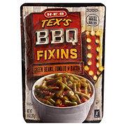H-E-B Tex's BBQ Fixins Green Beans Tomato & Bacon