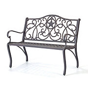 H-E-B Texas Backyard Riata III Bench