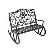 H-E-B Texas Backyard Riata III Rocking Bench