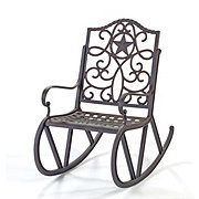 H-E-B Texas Backyard Riata III Single Scroll Rocker