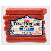 H-E-B Texas Heritage Original Beef Hot Dogs