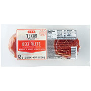 H-E-B Texas Originals Beef Filets Wrapped in Hickory and Mesquite Smoked Bacon