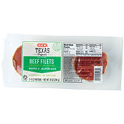 H-E-B Texas Originals Beef Filets Wrapped in Jalapeno Bacon