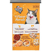 H-E-B Texas Pets 4 Flavor Morsels Dry Cat Food