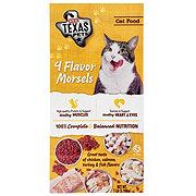 H-E-B Texas Pets 4 Flavor Morsels Dry Cat Food