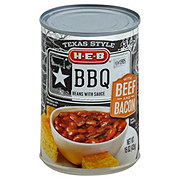 H-E-B Texas Style BBQ Beans With Beef And Bacon