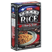 H-E-B Texas Style Deep In The Hearty Texas Rice