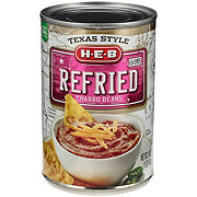 H-E-B Texas Style Refried Charro Beans