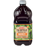 H-E-B Texas Style Unsweet Tea