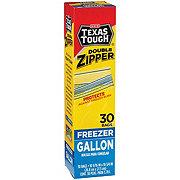 H-E-B Texas Tough Double Zipper Gallon Freezer Bags