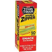 H-E-B Texas Tough Double Zipper Snack Bags