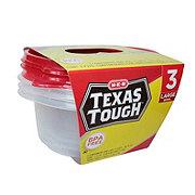 H-E-B Texas Tough Large Bowl 48oz Food Storage Containers