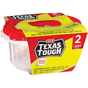 H-E-B Texas Tough Large Bowl Food Storage Containers
