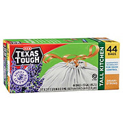 H-E-B Texas Tough Lavender Scent Tall Kitchen 13 Gallon Trash Bags